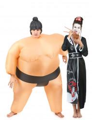 Costume di coppia Sumo e Geisha