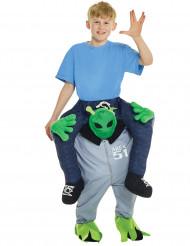 Costume sulle spalle di un alieno per bambino