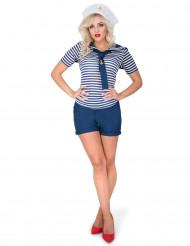 Costume marinaia monella per donna