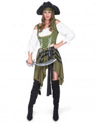 Costume pirata filibustiere per donna