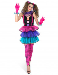 Costume Clown di carnevale Donna