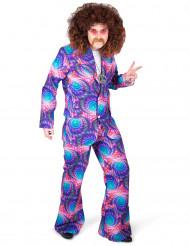 Costume disco psicadelico uomo