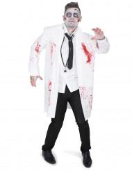 Costume dottore zombie per uomo