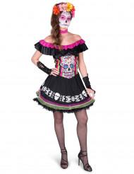 Costume per donna dia de los muertos