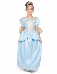 Costume principessa con scarpetta di vetro bambina