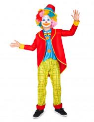 Costume Clown divertente bambino
