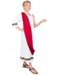 Costume imperatrice romana per bambina