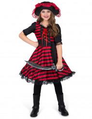 Costume pirata del pacifico per bambina