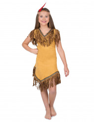Costume indiana del nuovo mondo Bambina