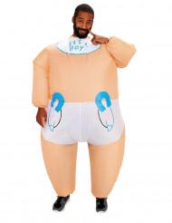 Costume gonfiabile da neonato per adulto