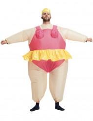 Costume gonfiabile da balleria adulto