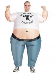 Costume gonfiabile personal trainer adulto