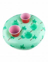 2 porta bicchieri con palme gonfiabile 46 cm