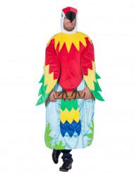 Costume da pappagallo sull