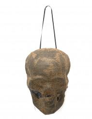 Decorazione per halloween cranio mummificato