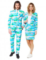 Costume di coppia Opposuits™ Flaminguy