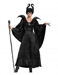 Costume da strega malefica nera donna halloween