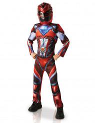 Costume Power Rangers™ Rosso Deluxe Bambino