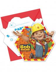 6 Inviti e buste da lettera Bob Aggiustatutto!