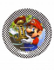 8 Piatti piccoli in cartone Super Mario™