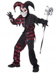 Costume giullare diabolico bambino