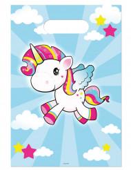 8 Buste regalo unicorno
