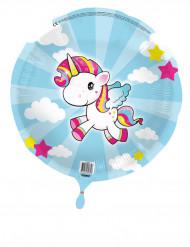 Palloncino alluminio Piccolo Unicorno