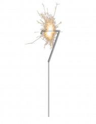 Stella filante luminosa numero 7