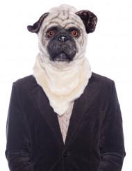 Maschera cane con bocca mobile