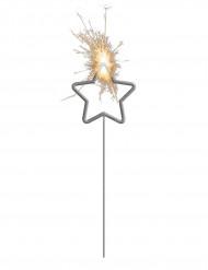 Stella filante luminosa a forma di stella