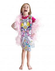Vestito da colorare Principessa bambina