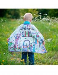 Mantello reversibile da cavaliere personalizzabile per bambino