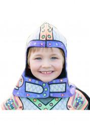 Elmo da cavaliere personalizzabile per bambino