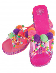 Scarpe da principessa rosa personalizzabili Bambina