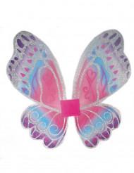 Ali da fata farfalla bambina