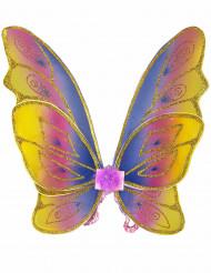 Ali da farfalla con brillantini per bambina