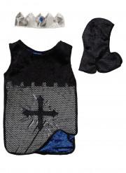 Costume reversibile cavaliere da bambino blu