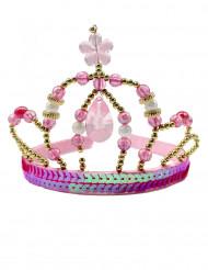 Corona da fata principessa rosa ragazza