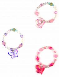 Braccialetto farfalla rosa ragazza