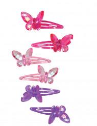 2 Fermagli per capelli Farfalla Bambina