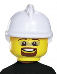 Maschera da pompiere Lego™ per bambino