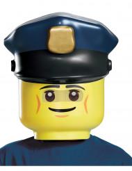 Maschera poliziotto Lego™ per bambino