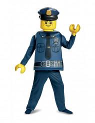 Costume deluxe poliziotto LEGO® bambino