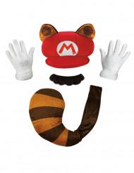 Kit Raccoon Mario Nintendo™ adulto