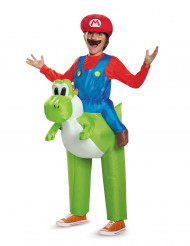 Costume gonfiabile Mario su Yoshi Nintendo® bambini