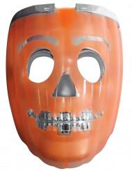 Maschera luminosa zucca lanterna  2 in 1