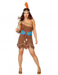 Costume da principessa guerriera indiana per donna
