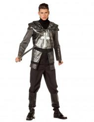 Costume da cavaliere in armatura per uomo