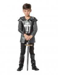 Costume da cavaliere in armatura per ragazzo