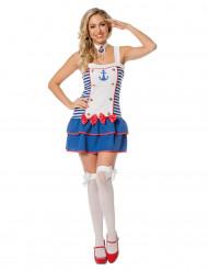 Costume da marinaia righe donna
